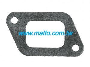 for Hino EB100 17173-1240 exhaust manifold gasket (030040)