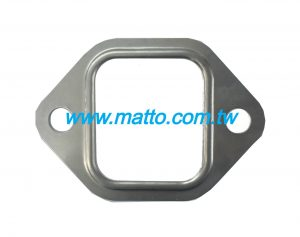 for Komatsu 4D120 4D130 6110-11-5812 exhaust manifold gasket (43008)
