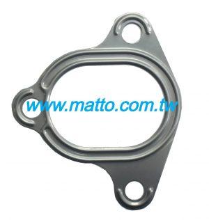 for Komatsu 6D125(9900) 6150-11-5810 exhaust manifold gasket (43002)
