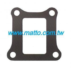 for Komatsu 6D125(9900) 6150-13-4810 intake manifold gasket (44002)
