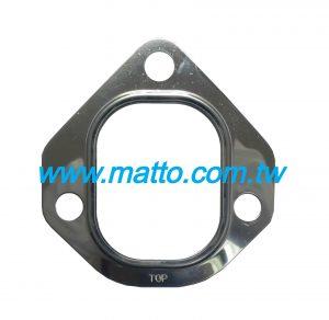 for Komatsu 6D155 6127-11-5810 exhaust manifold gasket (43006)
