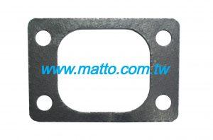 for Komatsu SAA6D140E 6261-11-5880 exhaust manifold gasket (43037)
