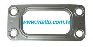 三菱ME053112 6D20 6D22排气歧管垫片(63023)