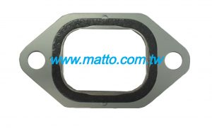 for Volvo THD100 exhaust manifold gasket (P3006)