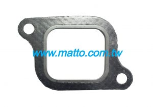 for Yanmar 6CH 127610-13201 exhaust manifold gasket (G3003)