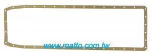 ISUZU 12P series 1-11367-092-0 OIL PAN GASKET (870510-NA)