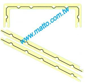 KOMATSU 6D125 6150-21-5813 OIL PAN GASKET (470350-LNA)
