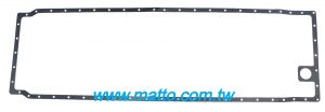MITSUBISHI S12R 37713-10200 OIL PAN GASKET (671192-NA)