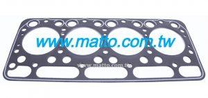Junta de culata de motor KUBOTA 4D82 15766-0331-1 (D2018)